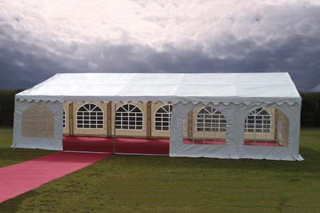 4m x 10m PVC 500 gsm marquee