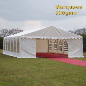 Our Range Of Commercial Quality 500gsm Marquees