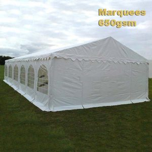 Our Range Of Ultimate Quality 650gsm Marquees