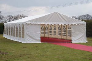 6m x 18m Commercial Marquee 500gsm PVC