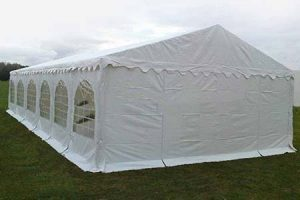 6m x 14m Ultimate Marquee PVC 650gsm