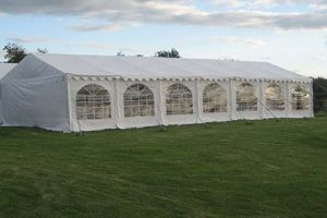 6m x 14m Marquee PVC 500gsm Commercial
