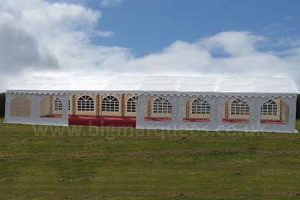 6m x 16m PVC 500gsm Commercial Marquee – Windows