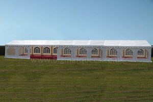 6m x 24m PVC 500 gsm Marquee