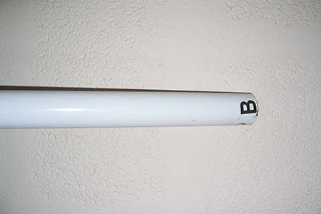 Marquee Spare Pole B 1940mm white