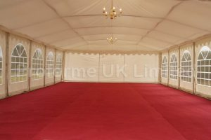 Marquee Roof Linings – Fitted – BS Fire Retardant