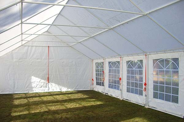 PE Marquee Inside Frame 6m x 12m