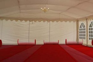 Marquee Carpet – Chord – With Ground Sheet & Fitting Kit