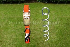 Marquee Tie Down Kit – Storm Proof Kit – Anchors & Ratchets