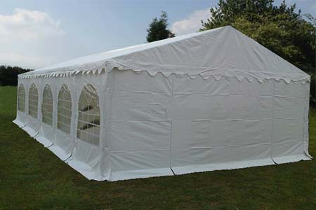 6m x 10m PVC 650 Commercial Marquee