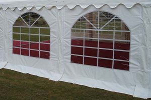 Marquee Replacement Side Panels Windows & Plain PVC