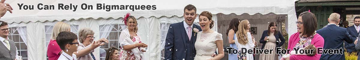 Bigmarquees Wedding Advert