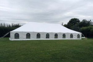9m x 18m Traditional Style Marquee