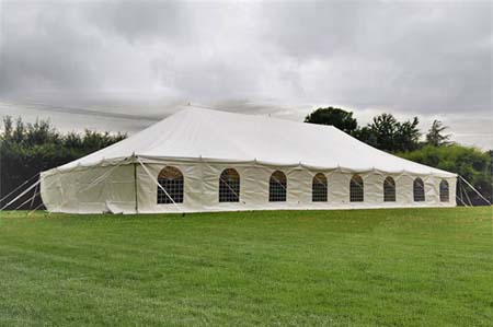 9m x 18m Marquee Traditional Style